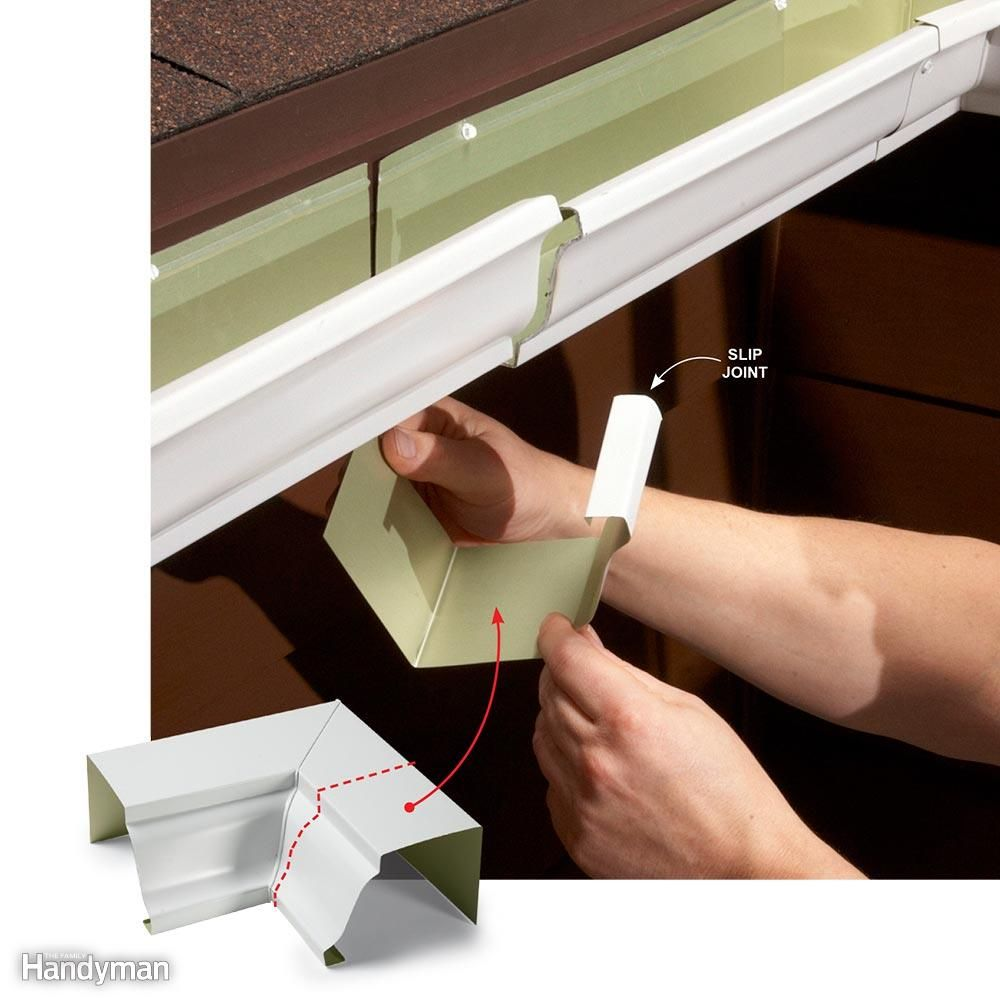 Easy Gutter Fixes You Can Diy Gutters Diy Gutters Gutter Repair