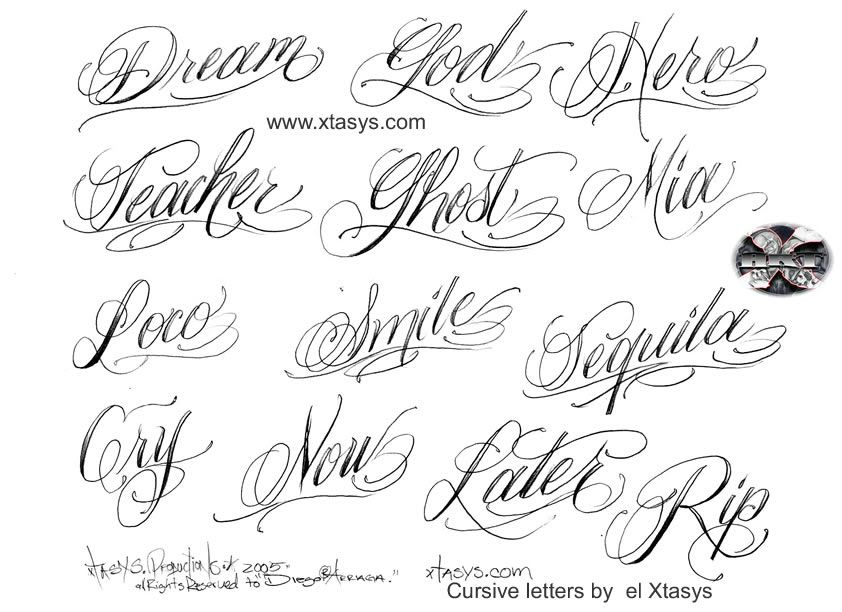 Cursive Lettering image by Emerad00d - Photobucket | Late Bloomer ...