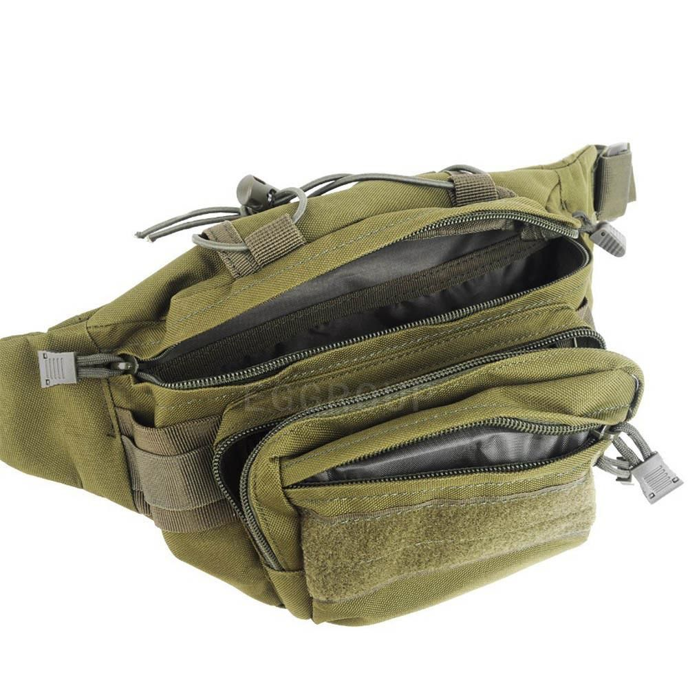 b7b2f911082dd0 Military thunder Tactical waist bag Advanced Utility Waist Sack HIP Bag  Outdoor pouch waterproof Nylon Camouflage Waist Pack-in Waist Packs from  Luggage ...