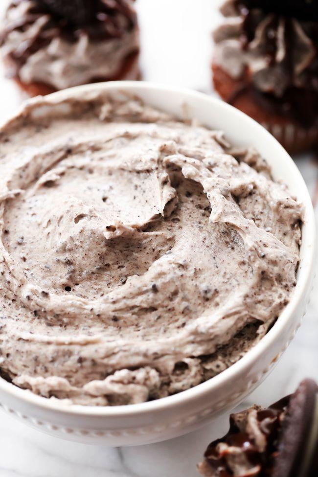 Cookies and Cream Frosting #cookiesandcreamcake