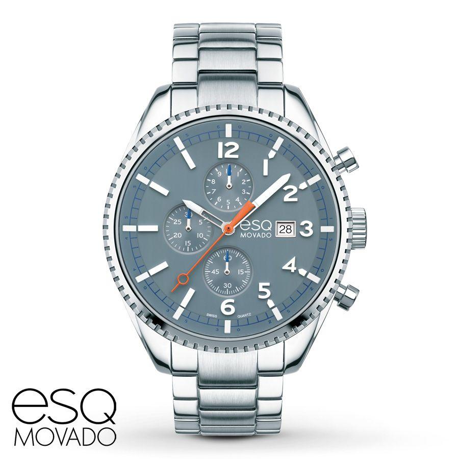 Jared - ESQ Movado Catalyst Men's Watch Chronograph 7301428