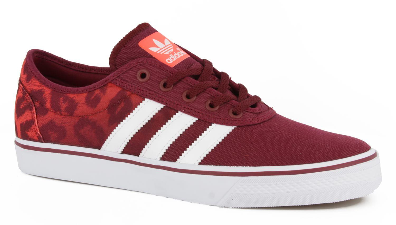 Adidas Adi Ease skate zapatos animal print blanco solar rojo cardenal