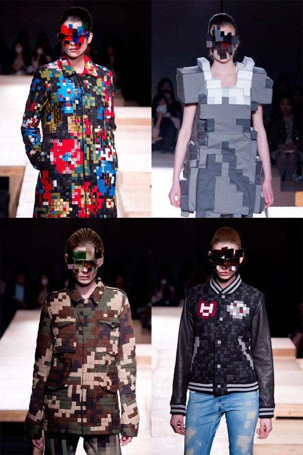 Anrealage Pixel Fashion