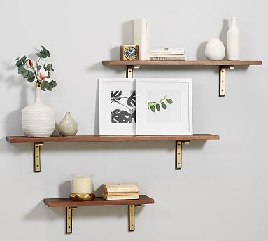 Customizable Brackets Shelves Diy Hanging Shelves Floating Shelves Shelves