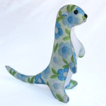 Florian the otter by Shark Alley. Saw these yesterday at Thames Festival - so cute!