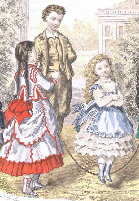 Wealthy victorian girls fashion | The Victorian Era - Questions and Answers and General ...