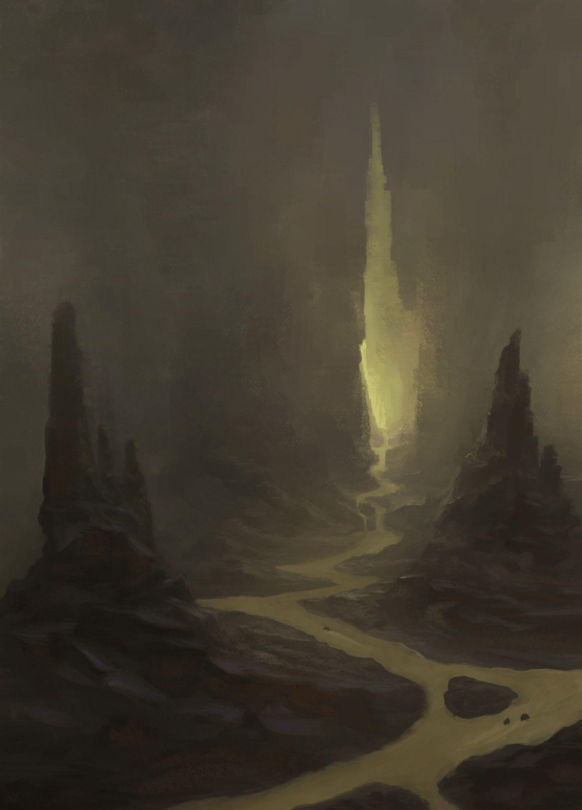 ArtStation - cave, Anton Fedotov
