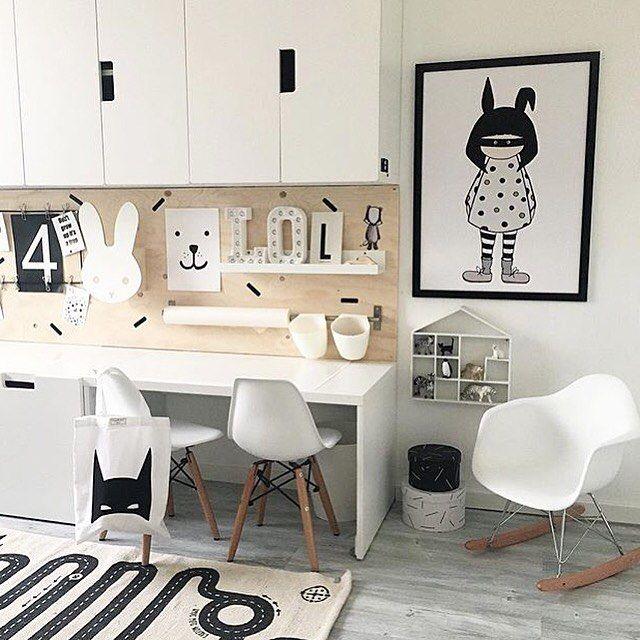 Pin de Jojanne Buiten em huis  Ikea kinderkamer