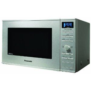 Panasonic Nn Sd681s 1 2cuft 1200 Watt Microwave With Inverter Technology And Blue Readout Stainles Microwave Oven Built In Microwave Oven Built In Microwave