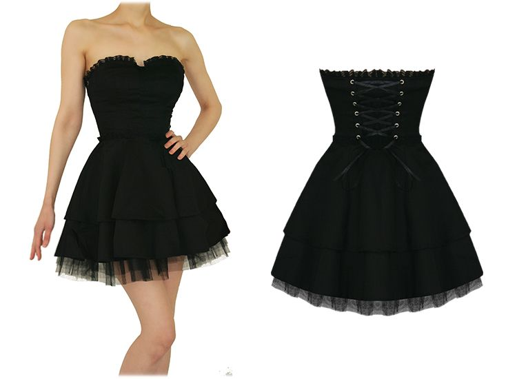 17 Best ideas about Emo Dresses on Pinterest   Punk dress, Short ...