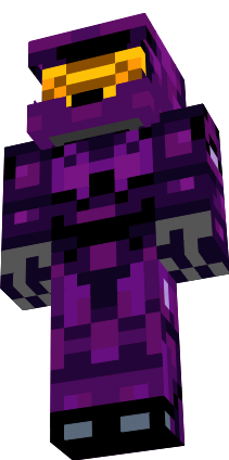 Halo Minecraft Purple Spartan From Halo NovaSkin Gallery - Skins para minecraft pe halo