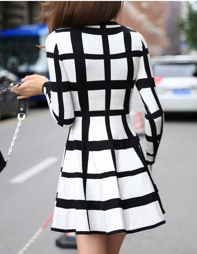 Dressed in elegant style