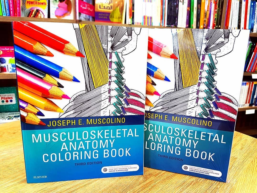 Musculoskeletal Anatomy Coloring Book, 3rd Edition | Anatomy ...