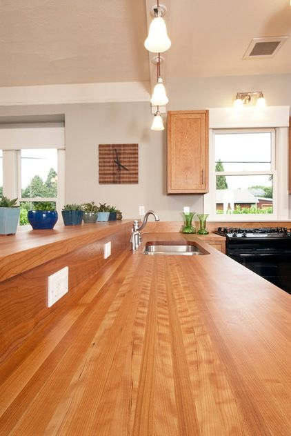 Wood Kitchen Counters For Some Wood And Countertops Just Don T