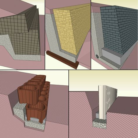 hangbefestigung und b schungsschutz einen hang befestigen mit b schungssteinen hangfl. Black Bedroom Furniture Sets. Home Design Ideas