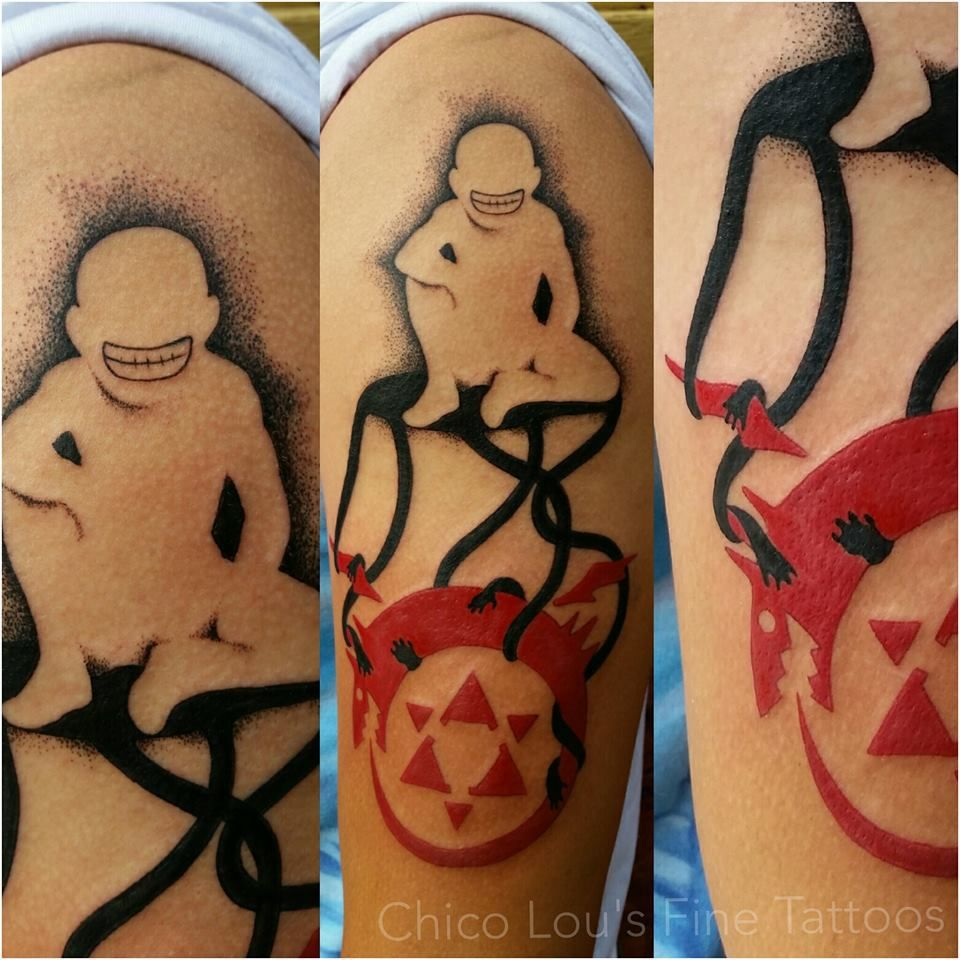 Fullmetal Alchemist Truth By Chico Lou's Fine Tattoos Shop