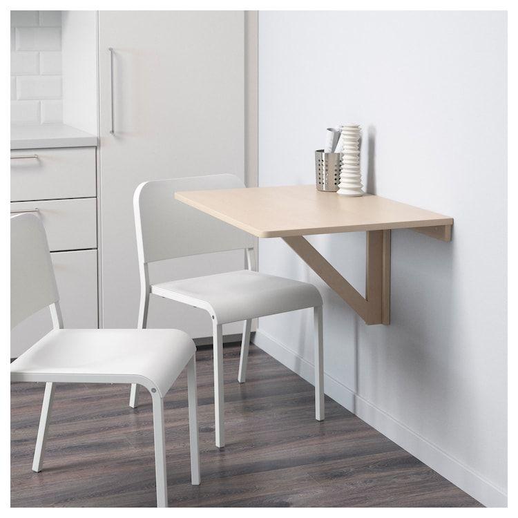 Norbo Wandklapptisch Birke Wohnung Wandklapptisch Tisch