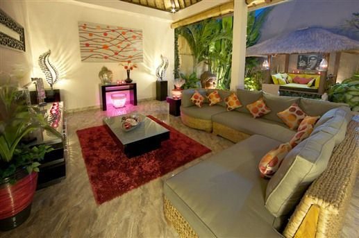 Open Plan Living Pavilion At Bermimpi Bali Villas In