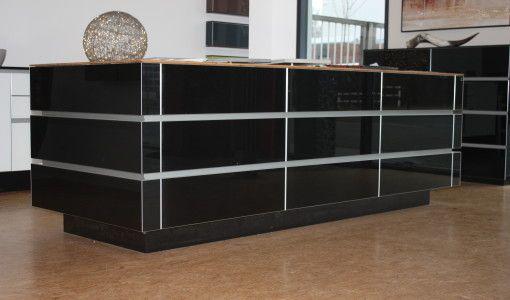 Tisch Echtglas Hochglanz Black Hochwertige möbel