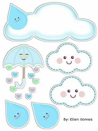 Topo De Bolo Baby Clip Art Baby Shower Clipart Initial Canvas