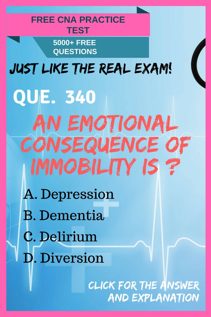 Cna Practice Test 340 Real Exam Questions And Answers Certified