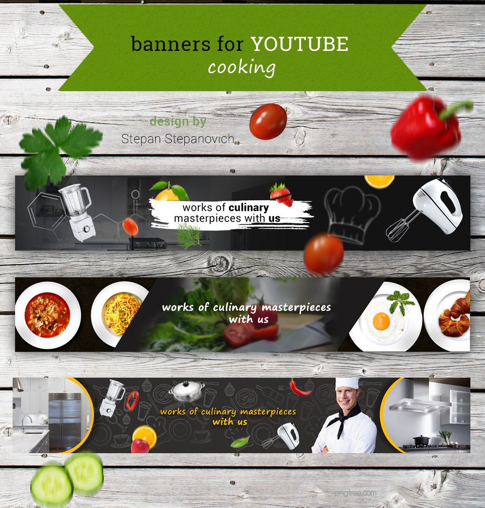Youtube Covers Cooking In 2020 Youtube Banners Youtube Design Banner