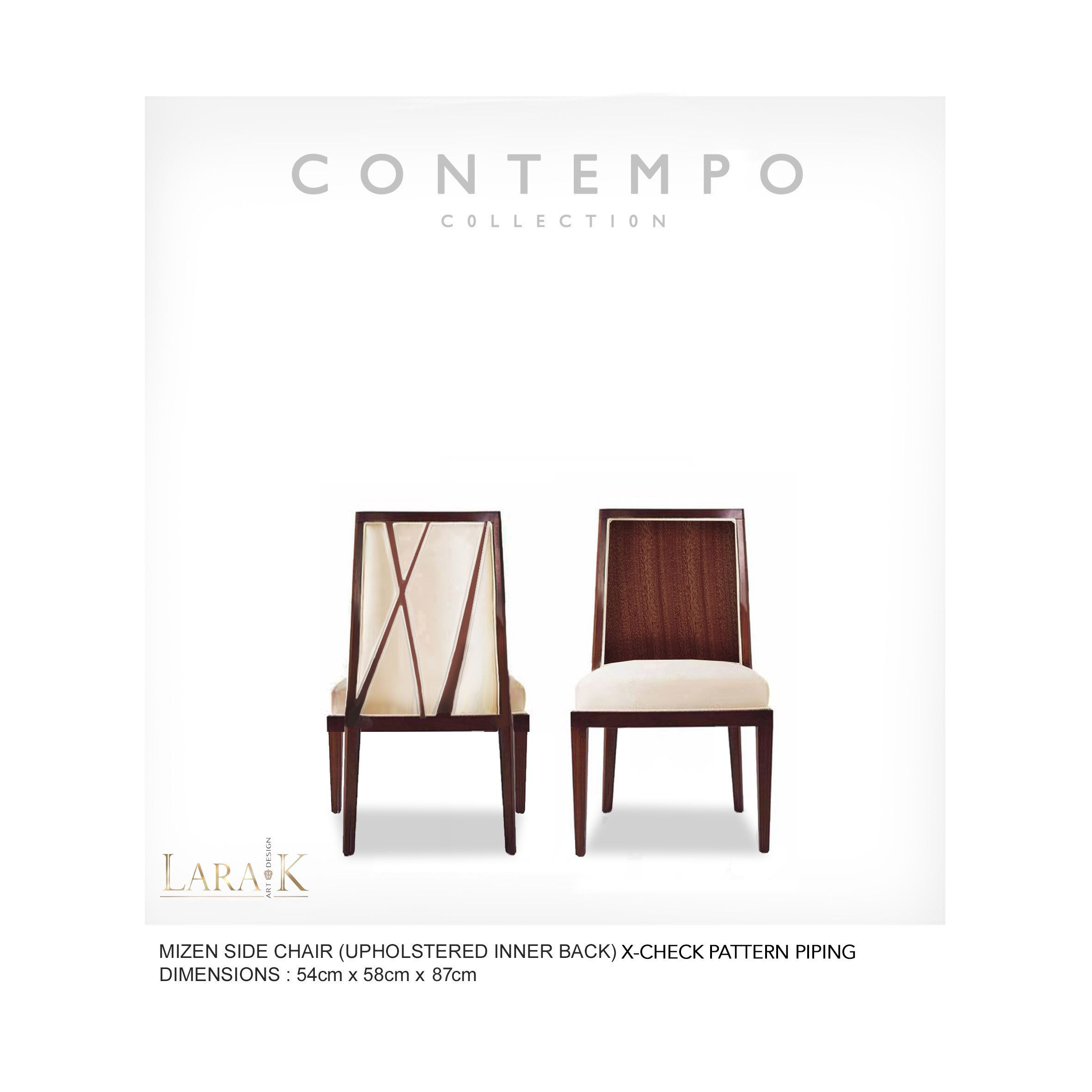 Dr Mizen Dining Side Chair The Contempo Collection Was Created