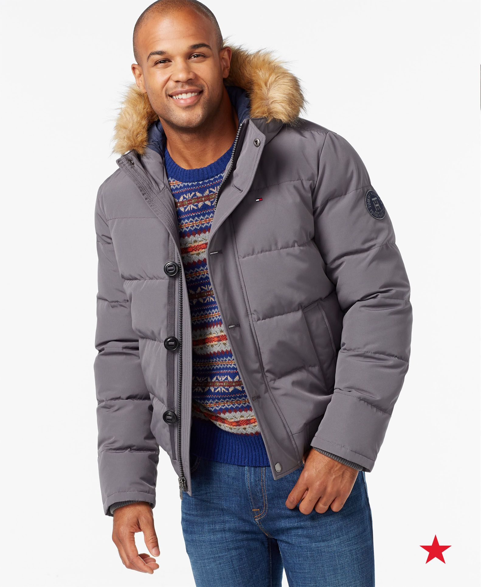 Short Snorkel Coat, Created for Macy's Tommy hilfiger