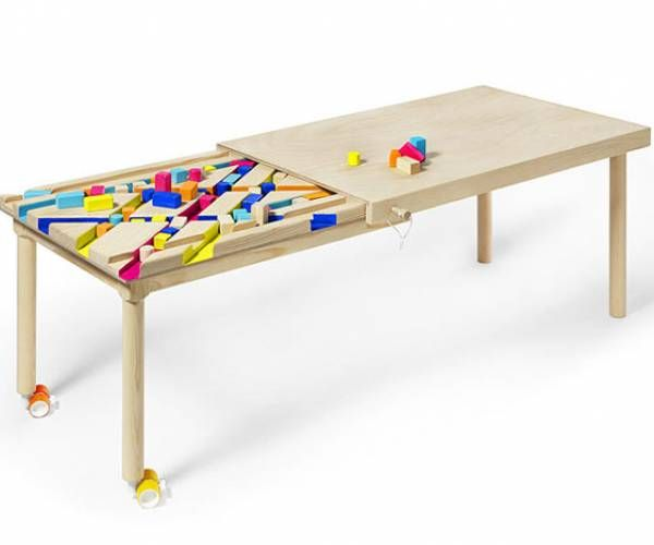 Bawa Is An Extendable Table For Children To Play The Table Is