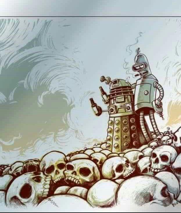 Dalek and Bender