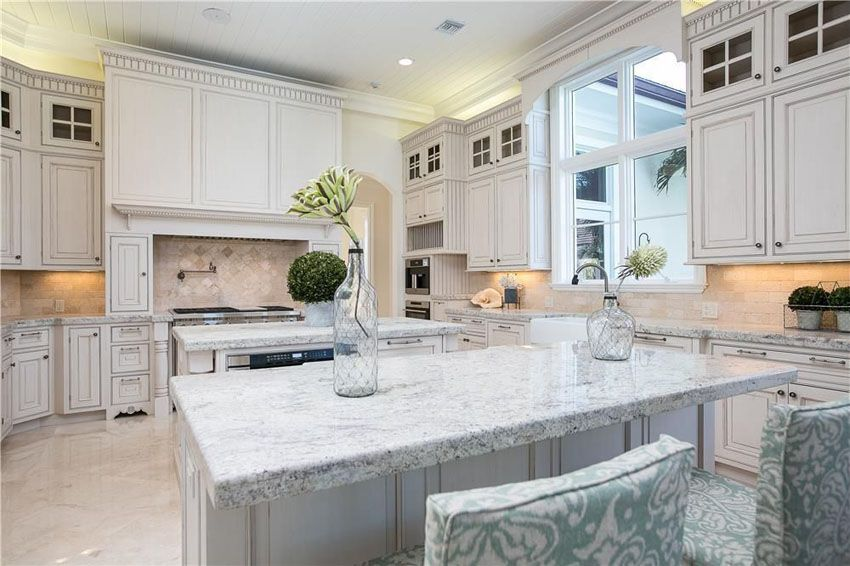 30 beautiful white kitchens design ideas - Luxury White Kitchens