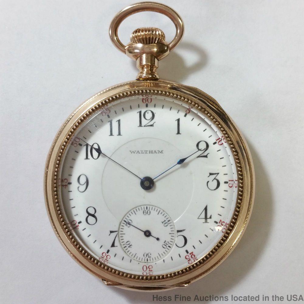 silver watch packet waltram mens Vintage