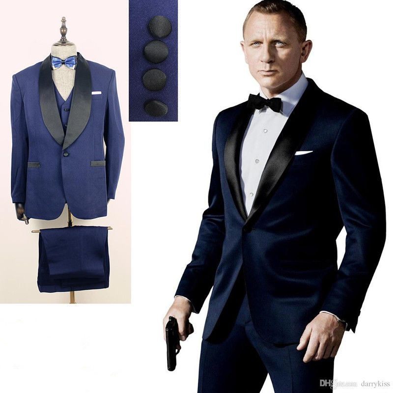 2016 Wedding Suits for men Formal Suit Groom Tuxedos Tailcoat ...