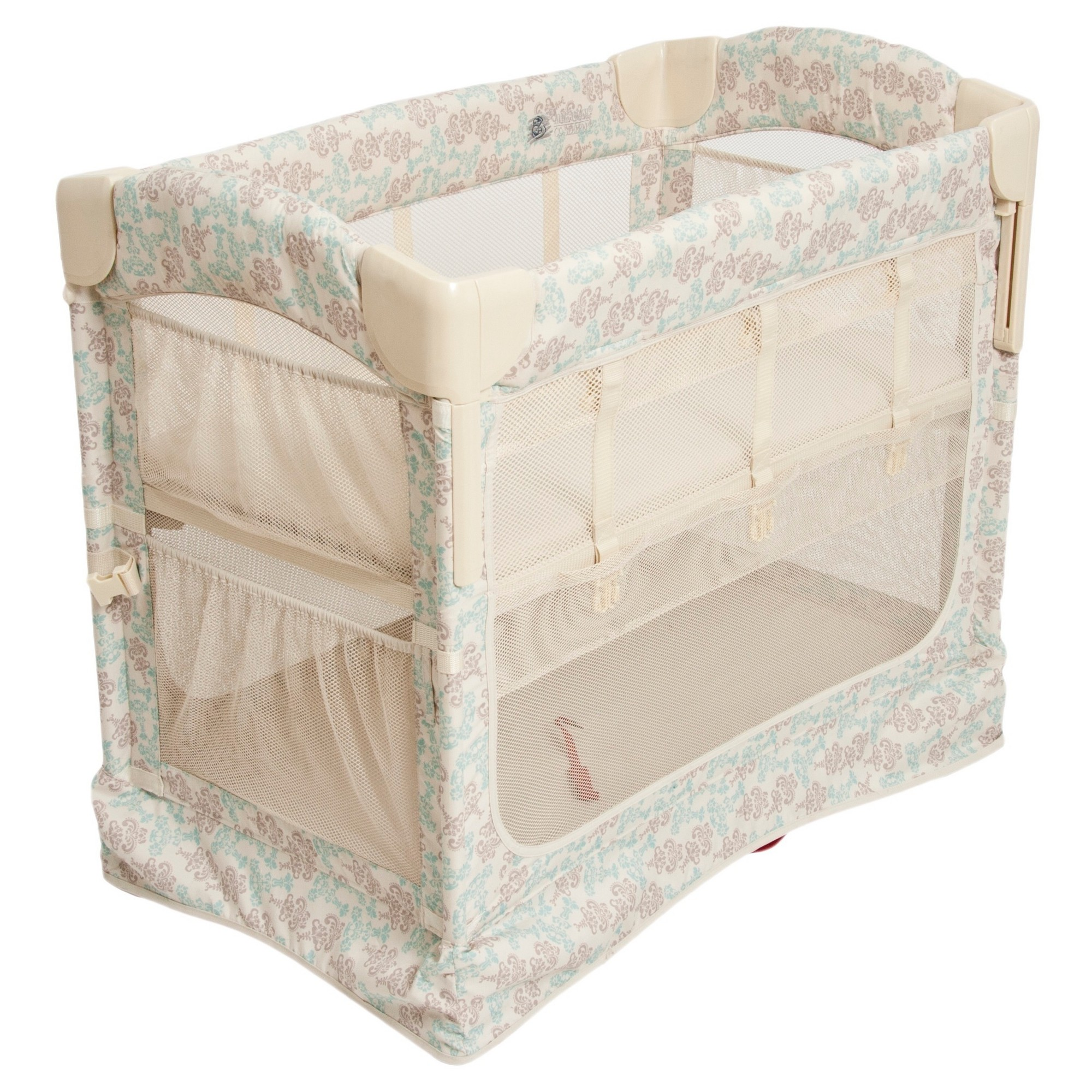 Arm's Reach Mini 2in1 Ezee CoSleeper Damask