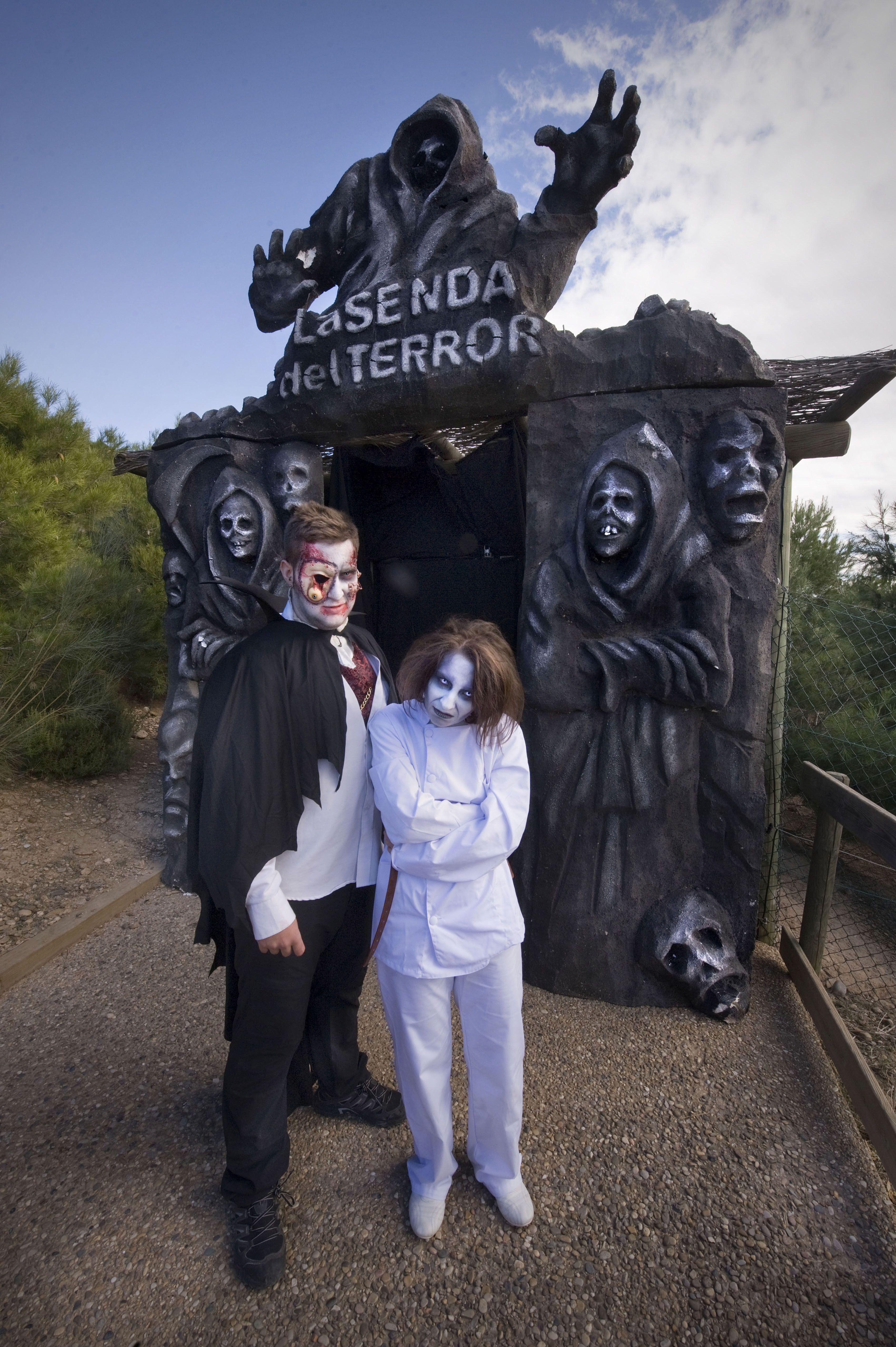 La Senda del Terror más grande de Europa está en Sendaviva en Halloween.