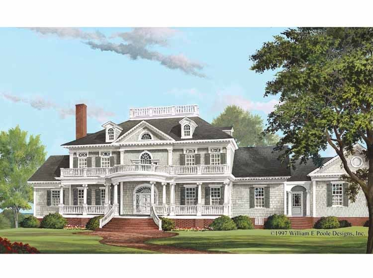 eplans neoclassical house plan verandas 5564 square and 4