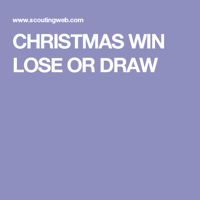 Canny image intended for printable win lose or draw phrases