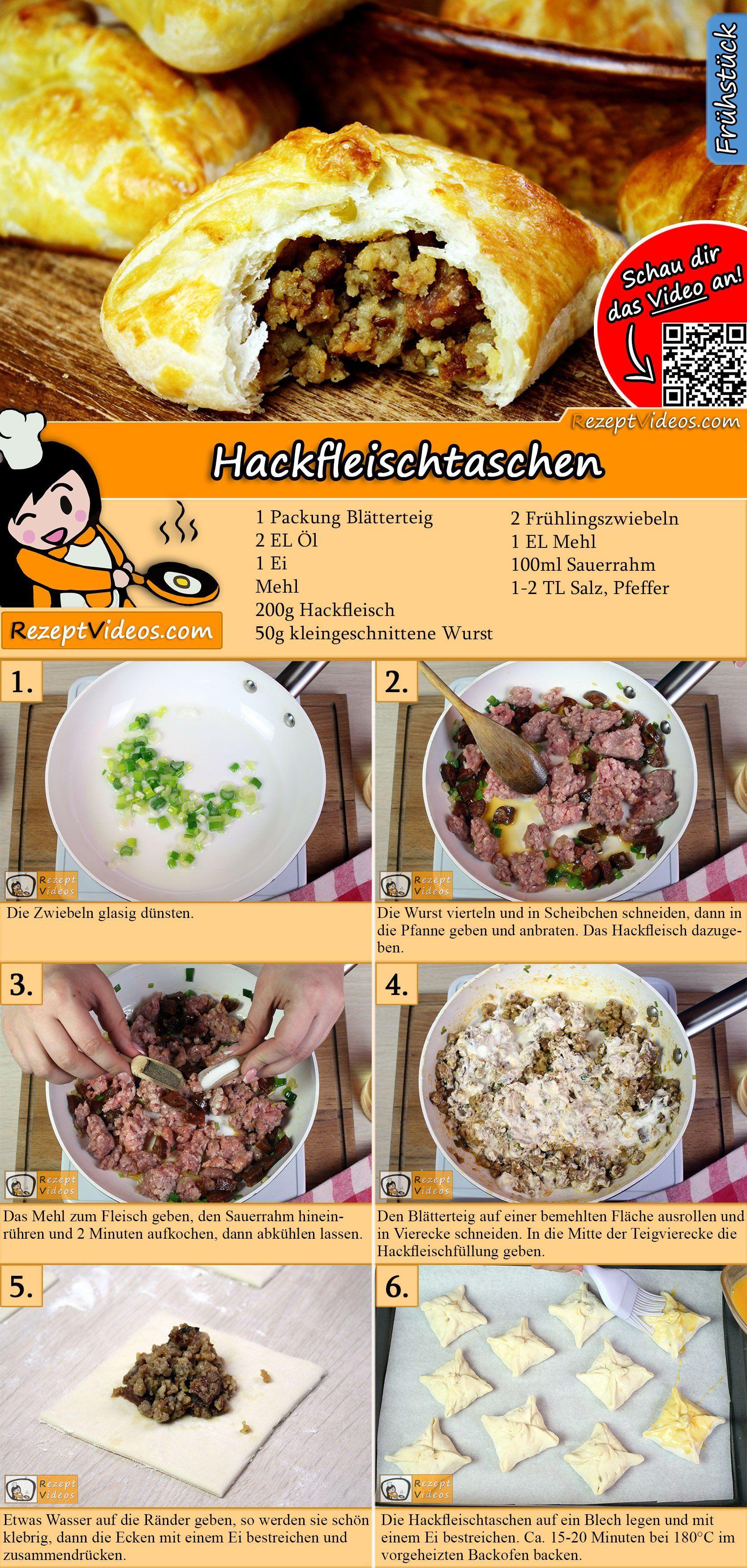 Hackfleischtaschen Rezept Rezepte Gerichte Mit Hackfleisch Einfache Gerichte
