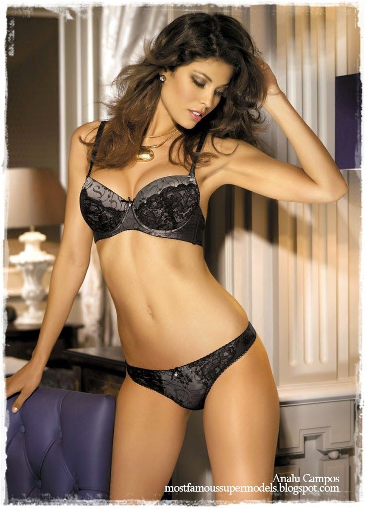 Lingerie supermodel pics agree