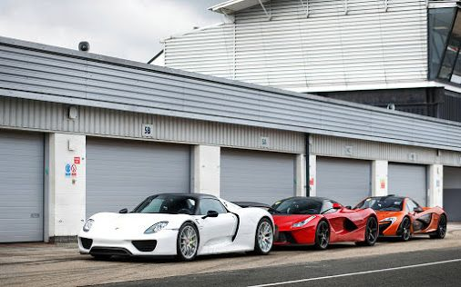 Porsche 918, Laferrari and P1 by Alex Penfold... #PickOne find more awesome pics here --> http://bit.ly/1OtAVt3