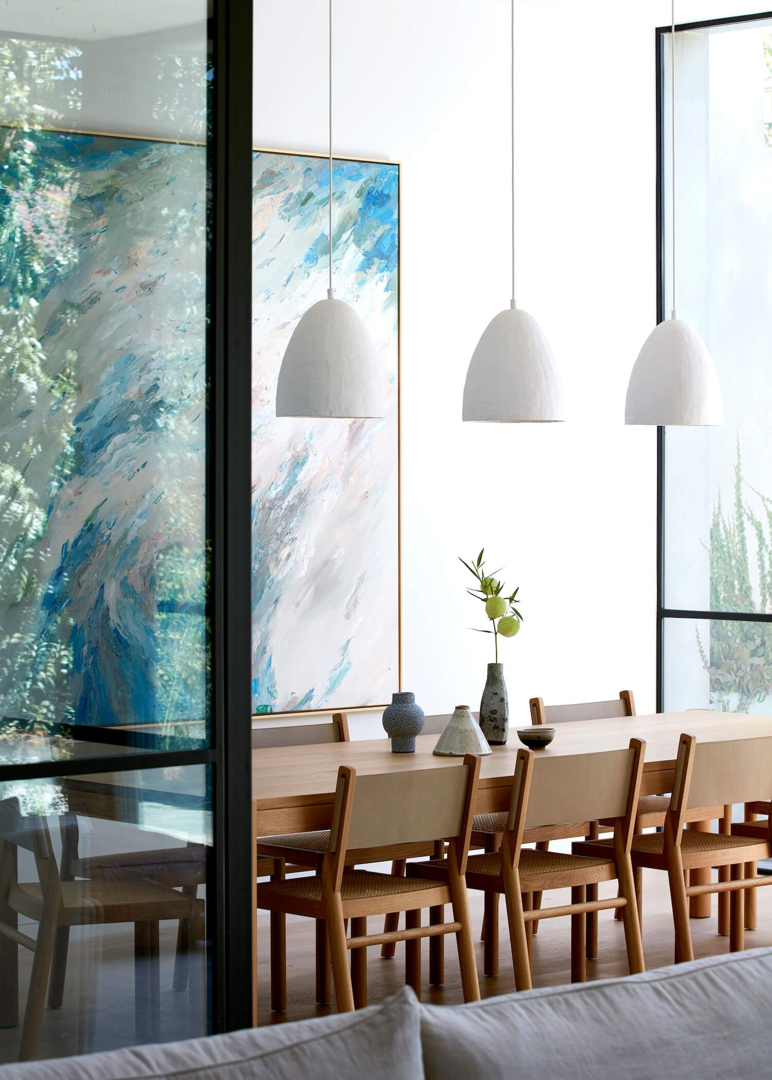 Armadale Home By Inglis Architects Dining Room