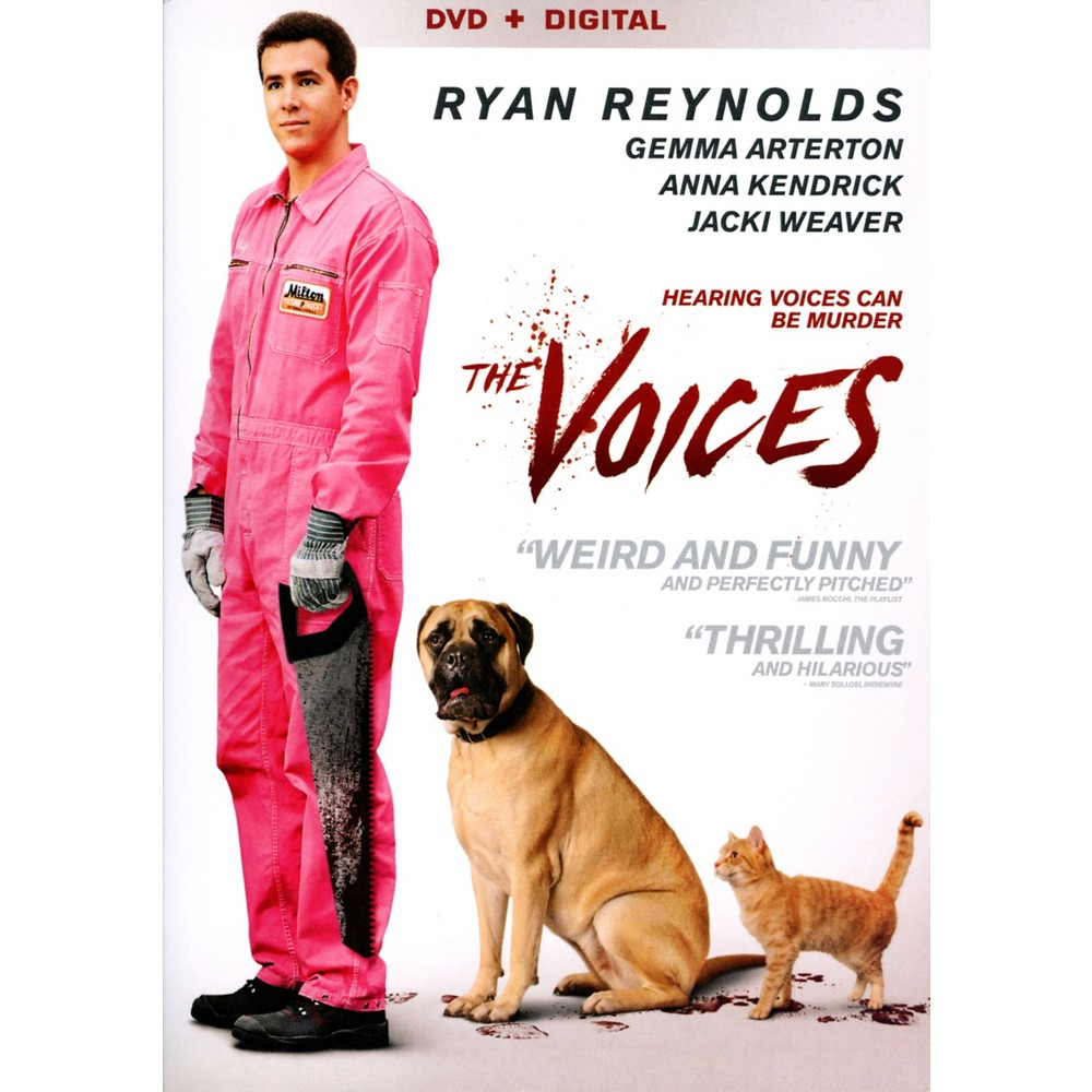 The Voices (DVD) (With images) Voices movie, Ryan