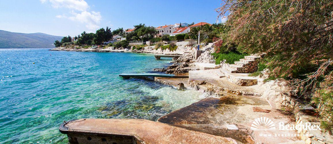 Beach Sedlo Seget Vranjica Dalmatia Split Croatia Beach Croatia Tourist