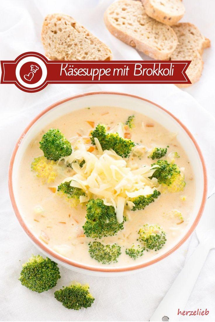 Käsesuppe mit Broccoli – Rezept für eine ganz tolle Suppe! Suppen Rezepte, Käse Rezepte: Rezept für eine leckere Käsesuppe mit Broccoli von herzelieb. Schön cremig und einfach zu machen. Ein tolles Mittagessen und ein geniales Abendbrot. Diese Kombination ist so lecker, dass wir davon nicht genug bekommen können.