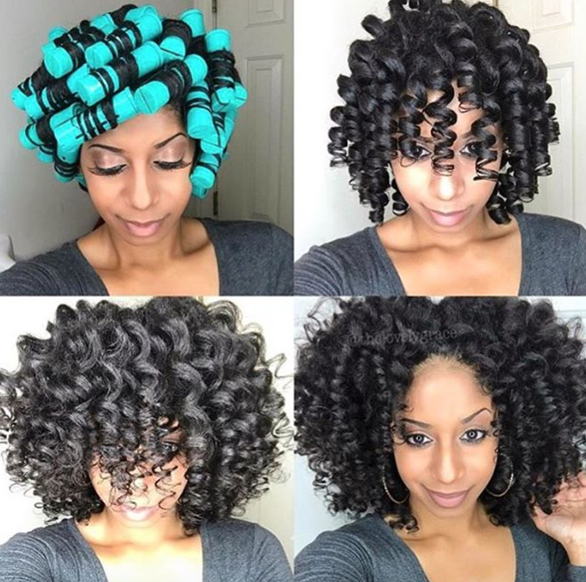 black hair roller set styles pin by black hair information coils media ltd on 9034
