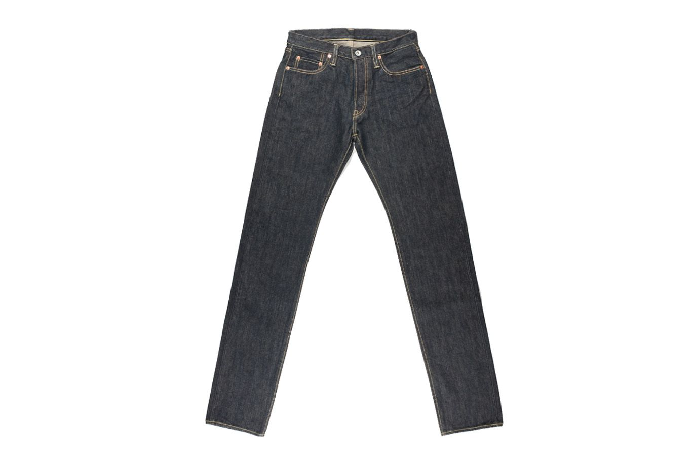 Iron heart 633s 21oz selvedge jean straight tapered