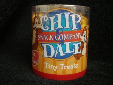 Disneys Chip Dale Snack Company Tiny Treats Mickey Puffy Cheese