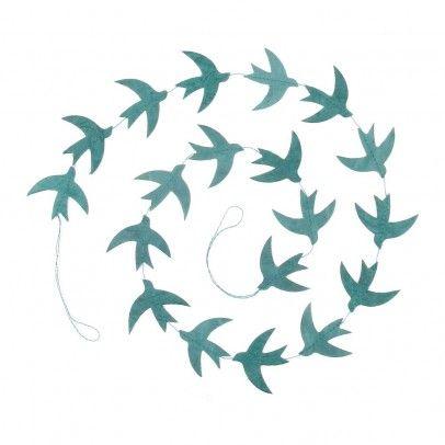 Smallable - guirlande-oiseaux-bleu