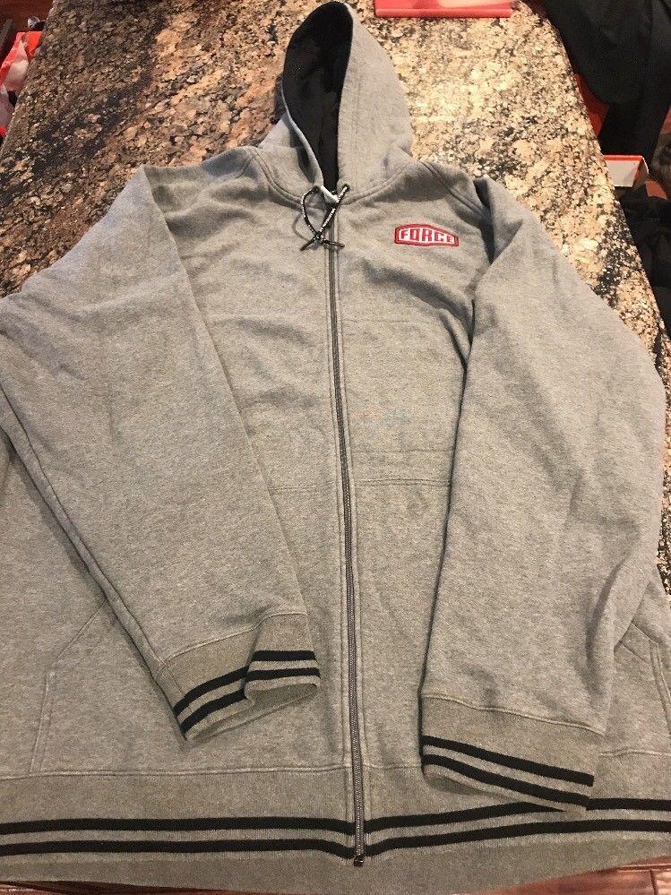 54b41f38 Nike Air Force 1 Hoodie Vintage Size 3XL XXXL GREY #Nike #VintageHoodie