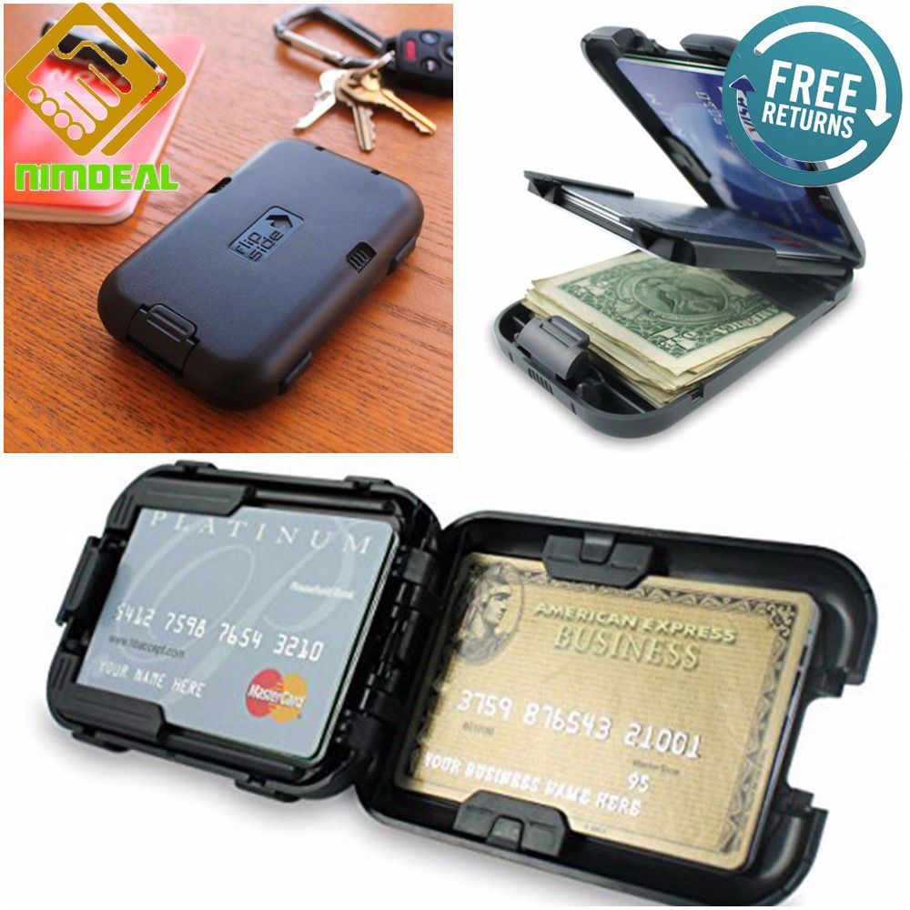 RFID BLOCKING WALLET Security Credit Cards Protection
